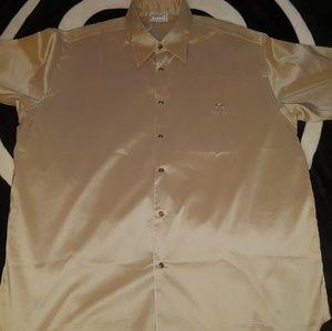 Vtg versace sports silk shirt sz.52